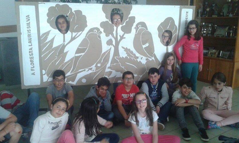 PHOTO WALL com os alunos1